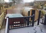 The outdoor hot tub and sauna have proven to be extremely popular with guests