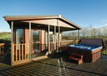 lodge with hot tub dumfries