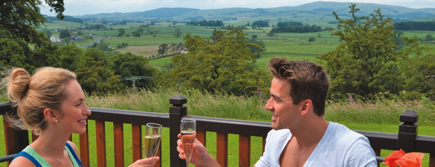 luxury lodges near dumfries